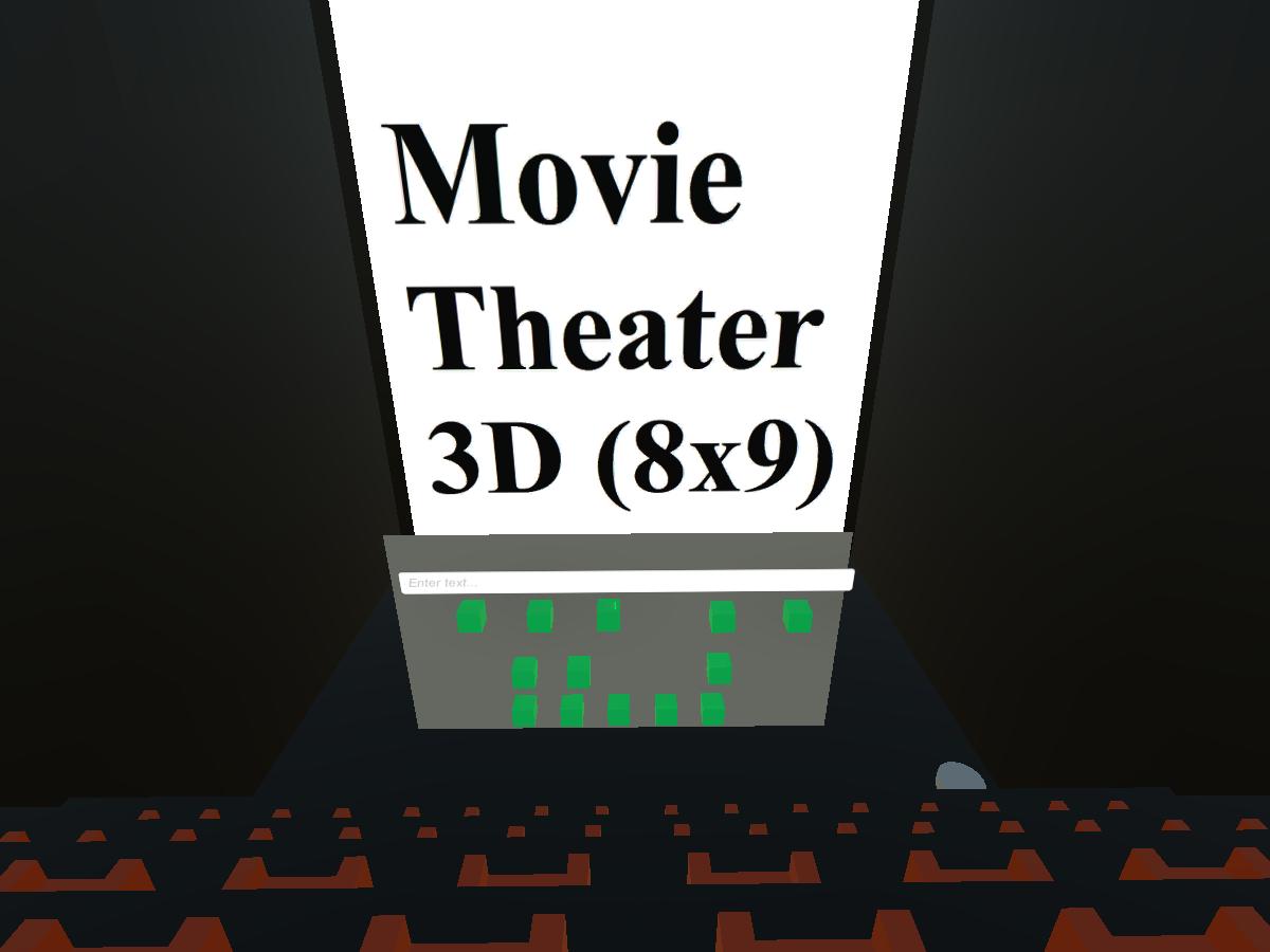 Movie Theater 3D 8x9