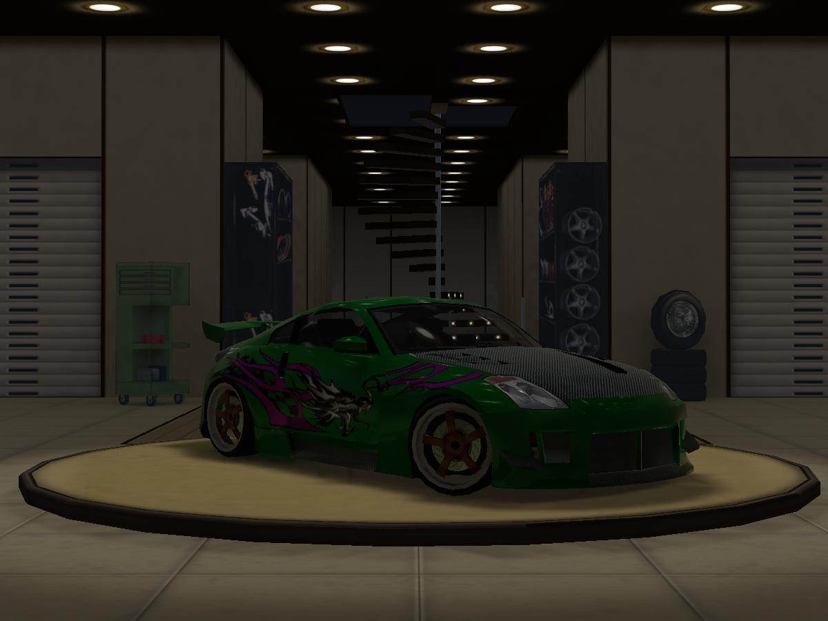 NFS Underground 2 Garage