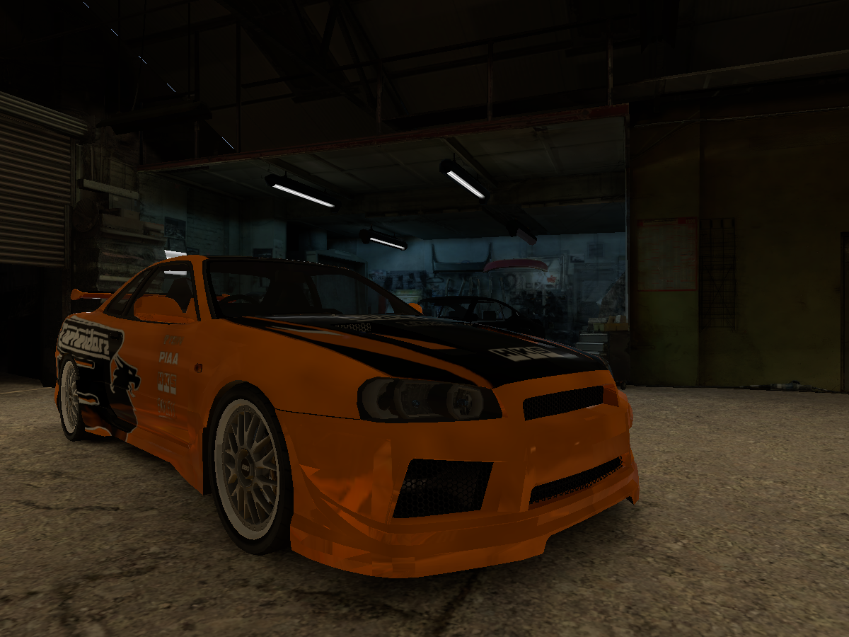 Need For Speed [2015] Garage