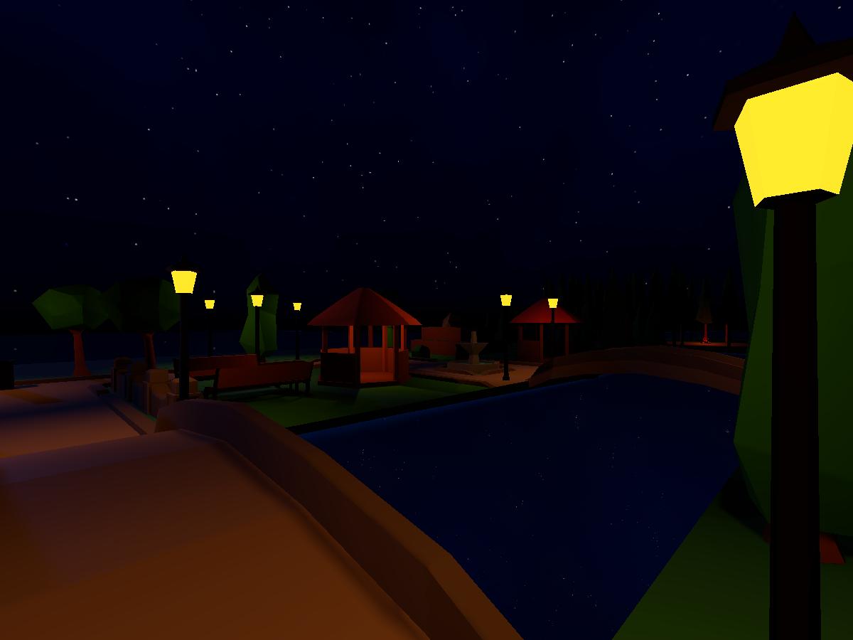 Nighttime Park