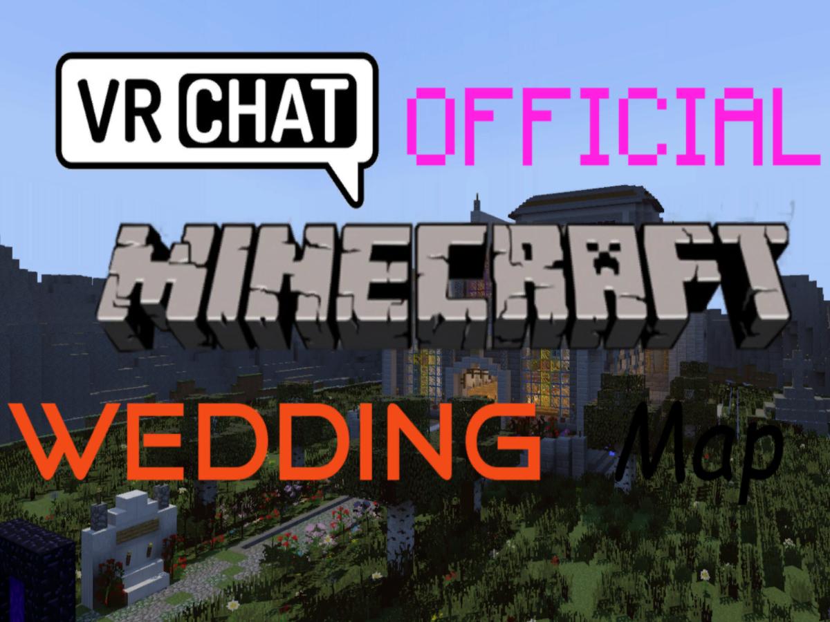 Official Minecraft Wedding map