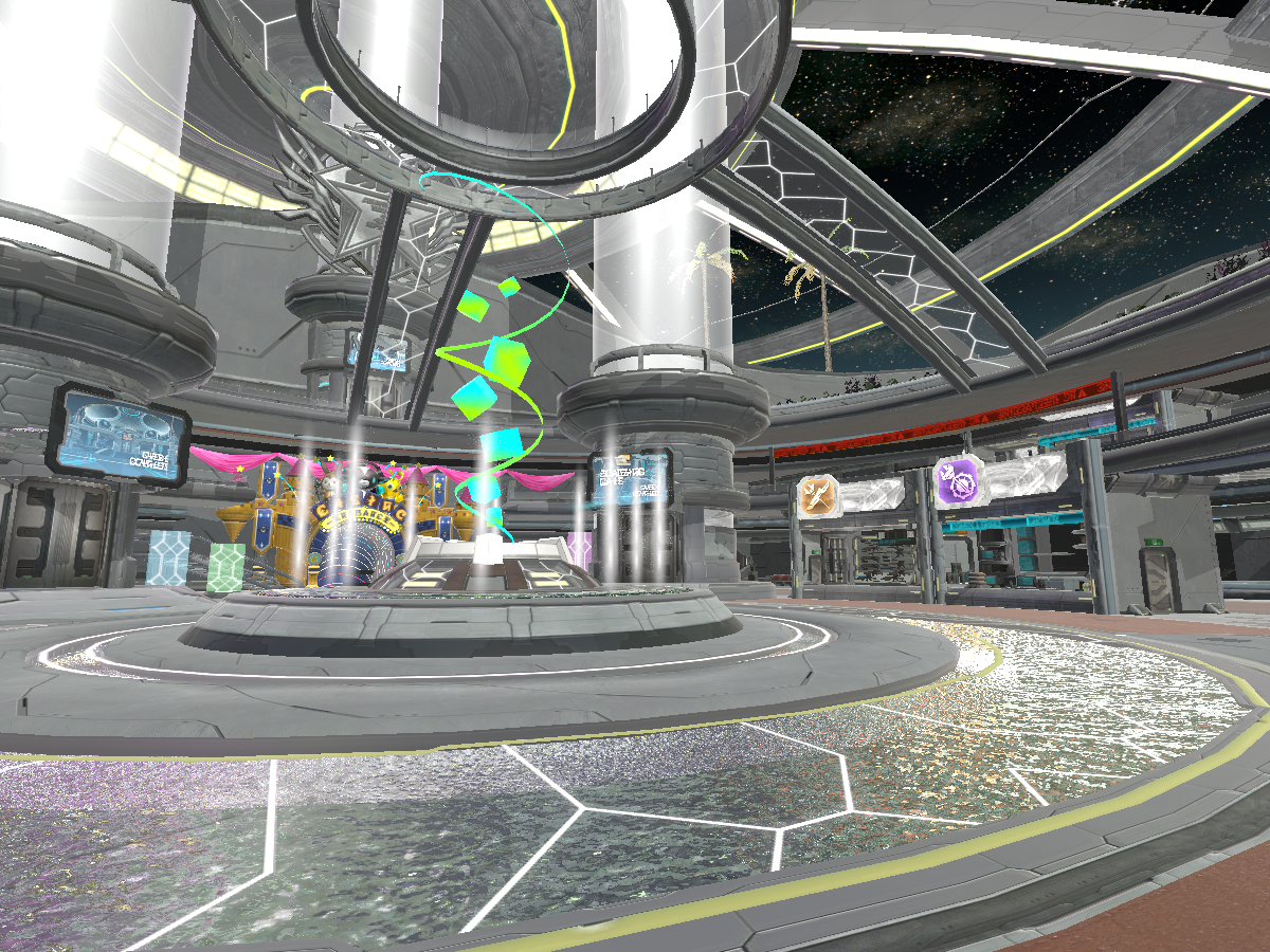 PSO2 Shopping Area