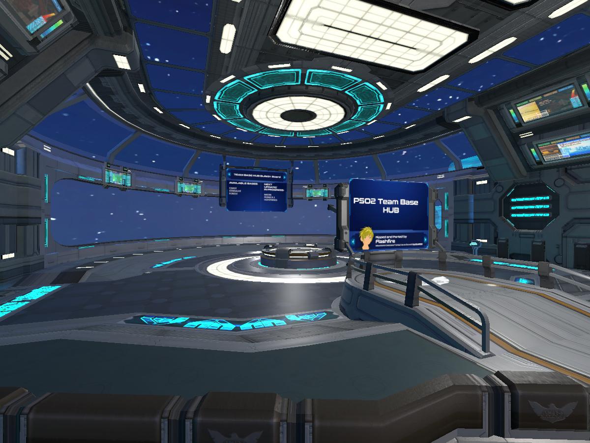 PSO2 Team Base Hub
