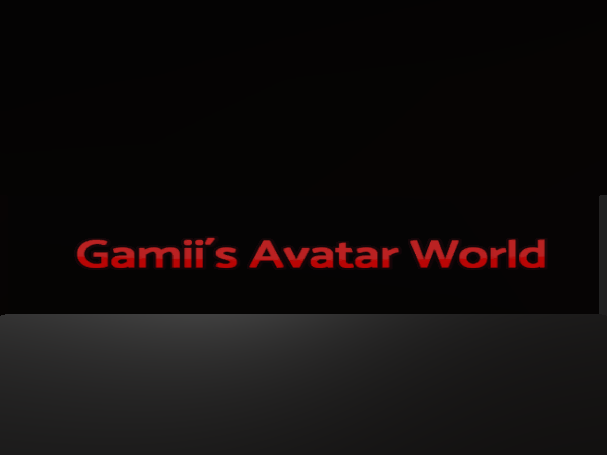 Gamii´s Avatar World