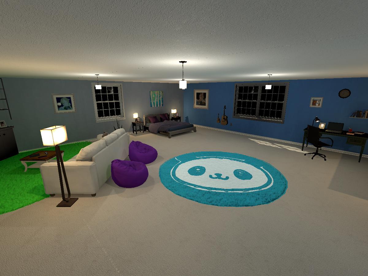 Panda's Bedroom