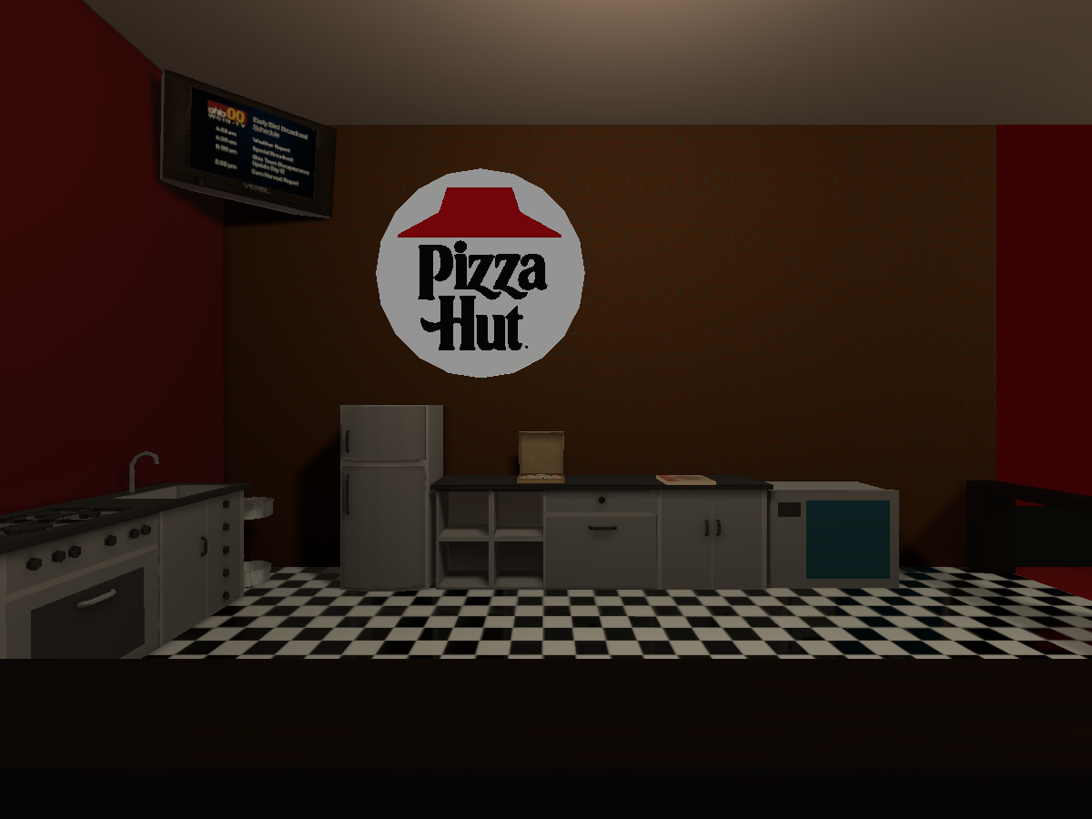 Pizza Hut In The Garage