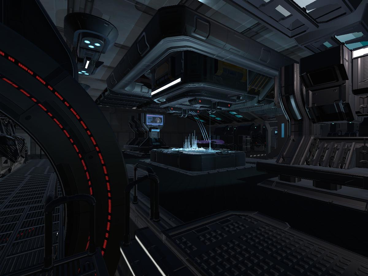 Alpha-Nine Pod Bay 〈Halo 3: ODST〉