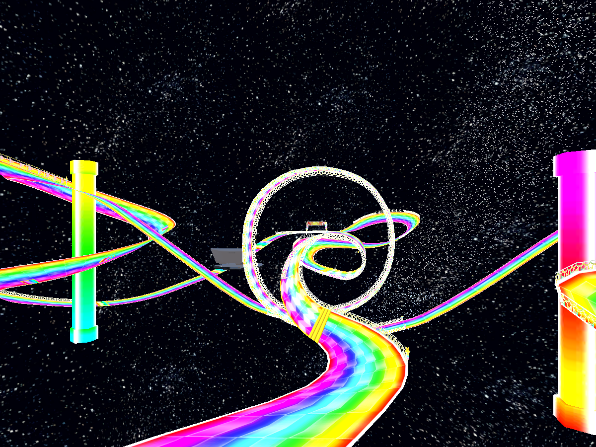 Rainbow road DS