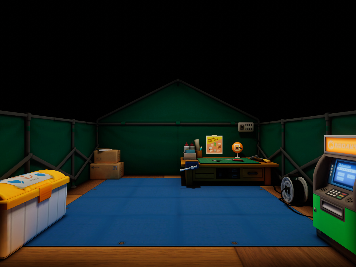 Resident Service Tent - Animal Crossing˸ New Horizons