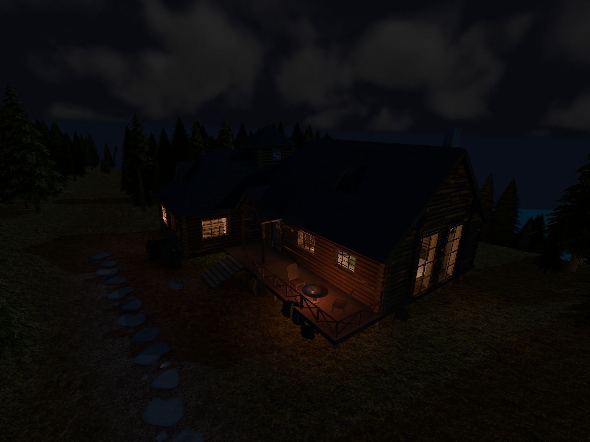 SAO Forest House V1.5 Night