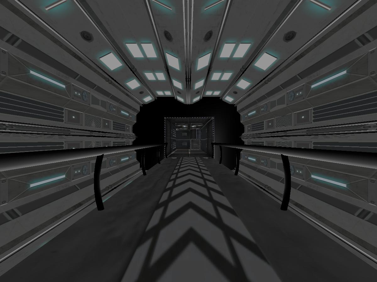 ~ FIXING WORLD ~ Future Corridor Hallway ~