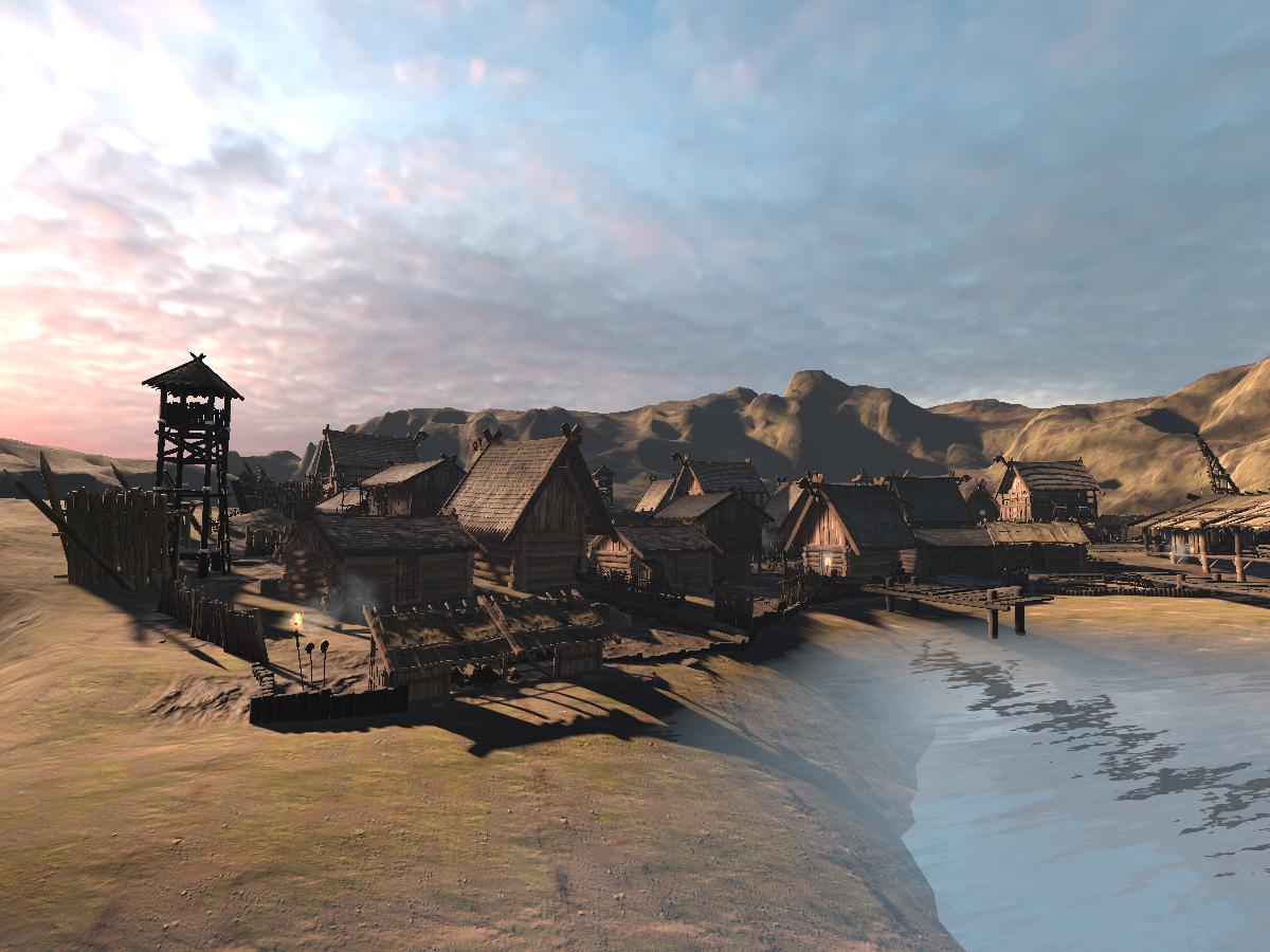 Seaside Viking Town