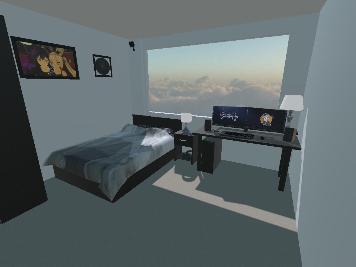 Bedroom & Hangout Space