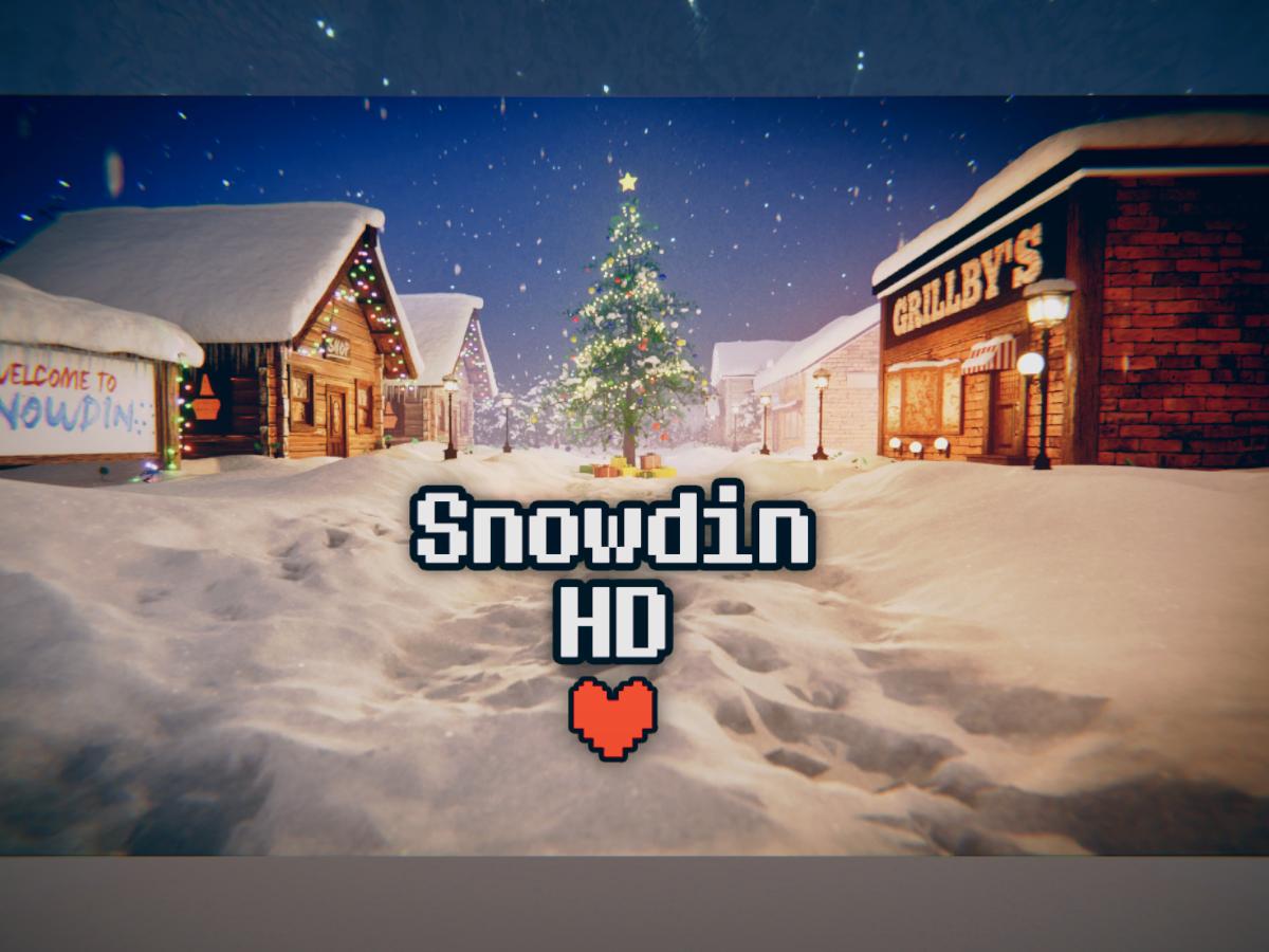 Snowdin HD -WIP-