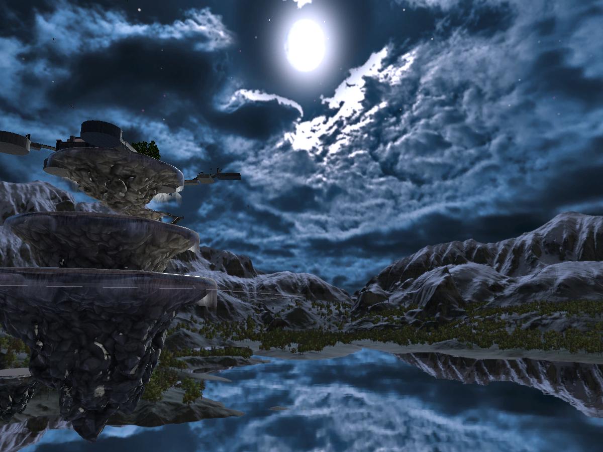 Sola -Night- 空のお家