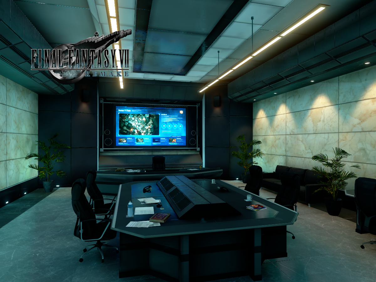 Turks Room - Final Fantasy VII Remake