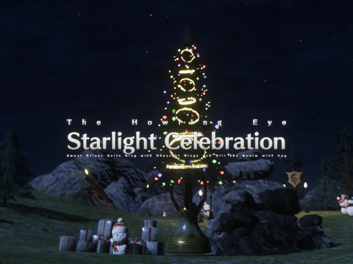 Starlight Celebration in The Howling Eye