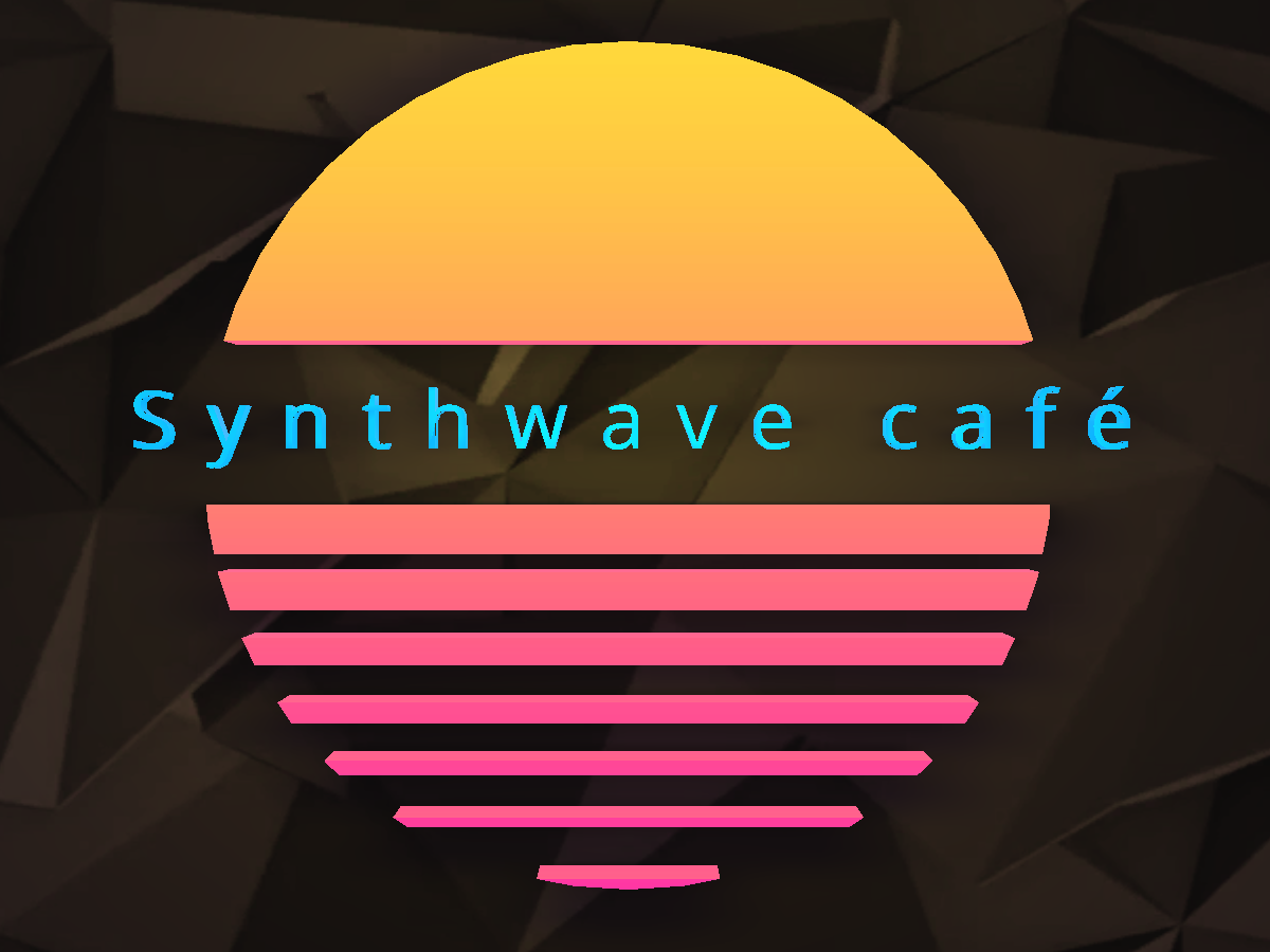 Synthwave café