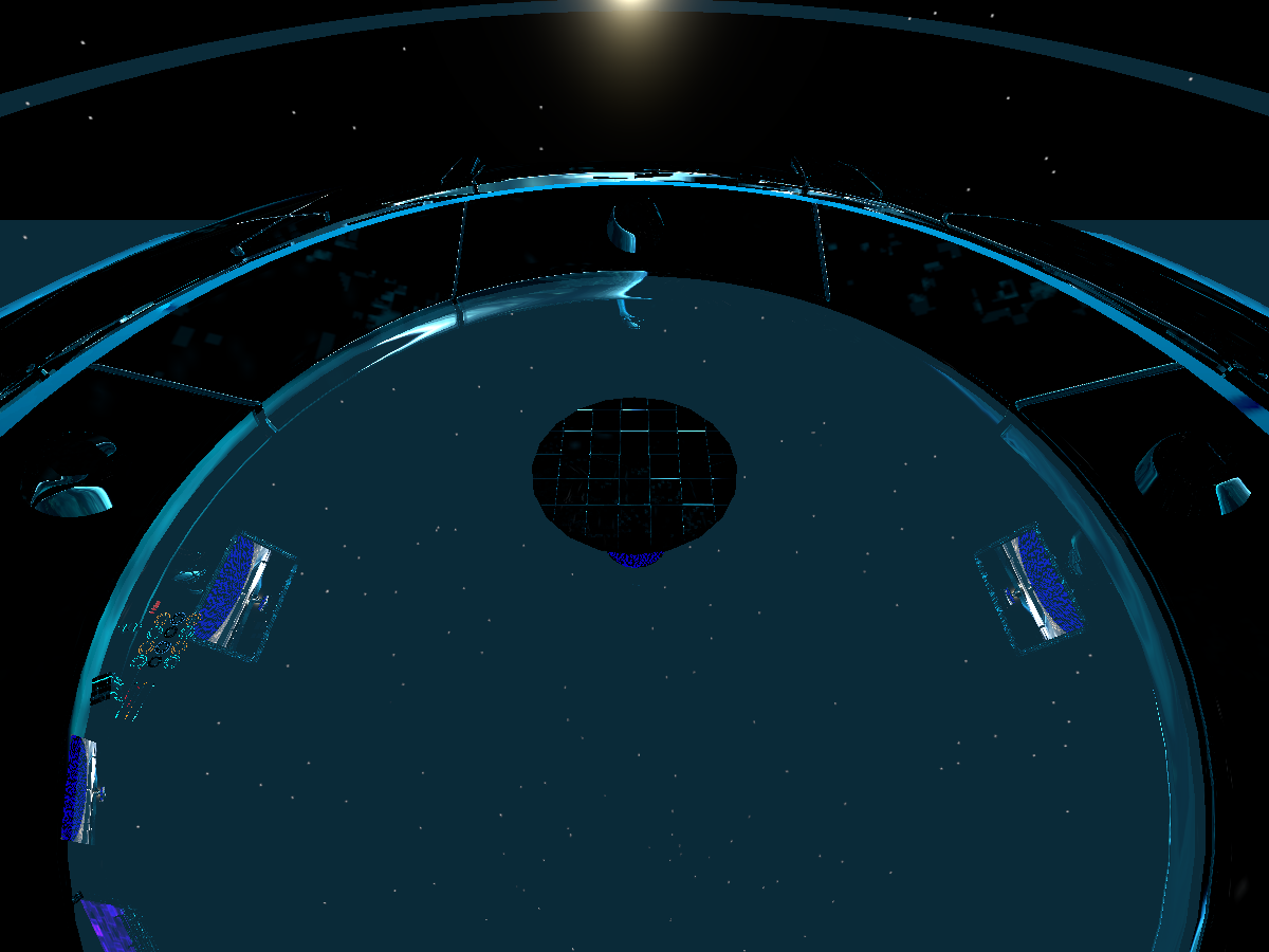 TRON. Space Map
