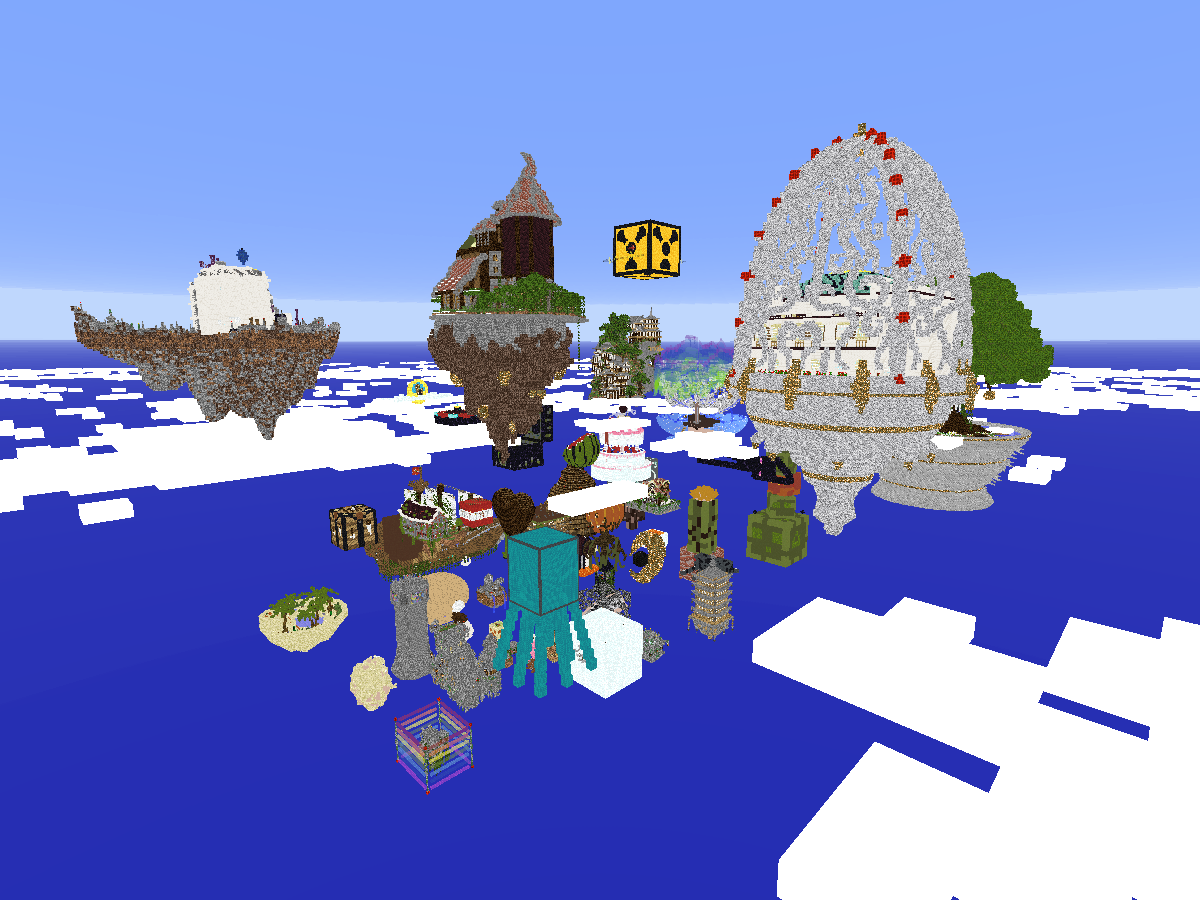 The Unusual SkyBlock 〈in Minecraft Custom Map〉