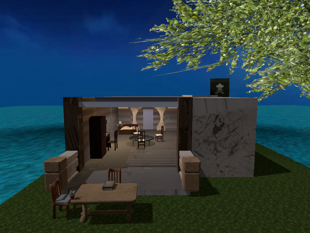 Peace and tranquillity room