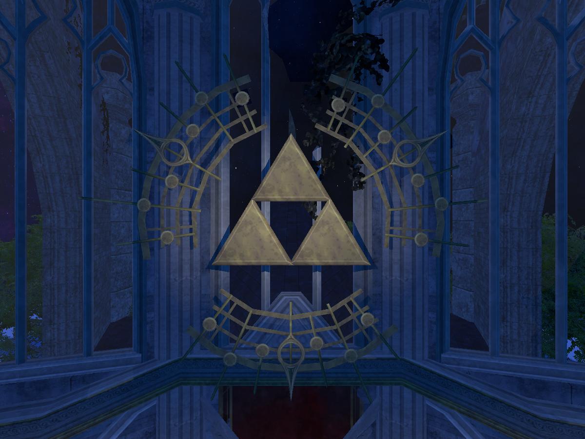 Hyrule Castle Ruins - Legend of Zelda