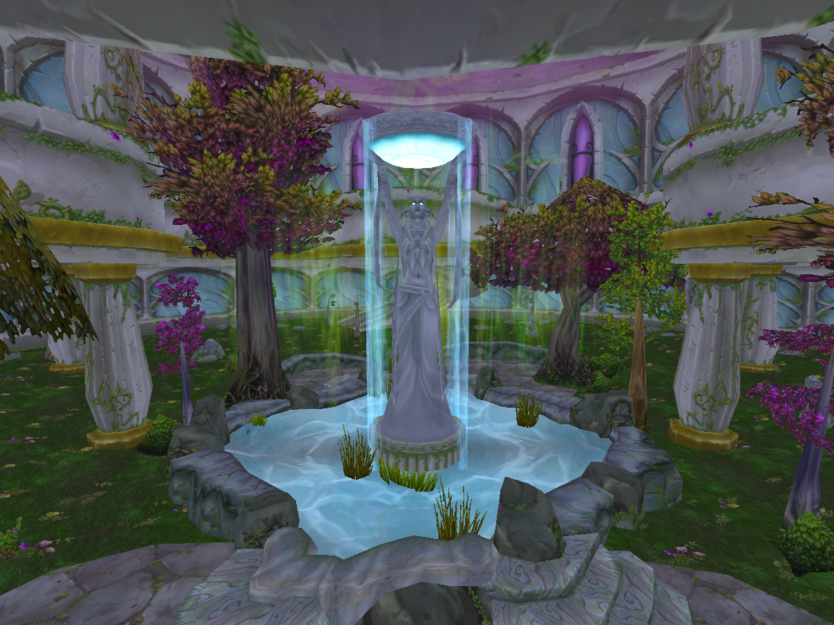 WOW: Temple of the Moon & Nightelf Avatars