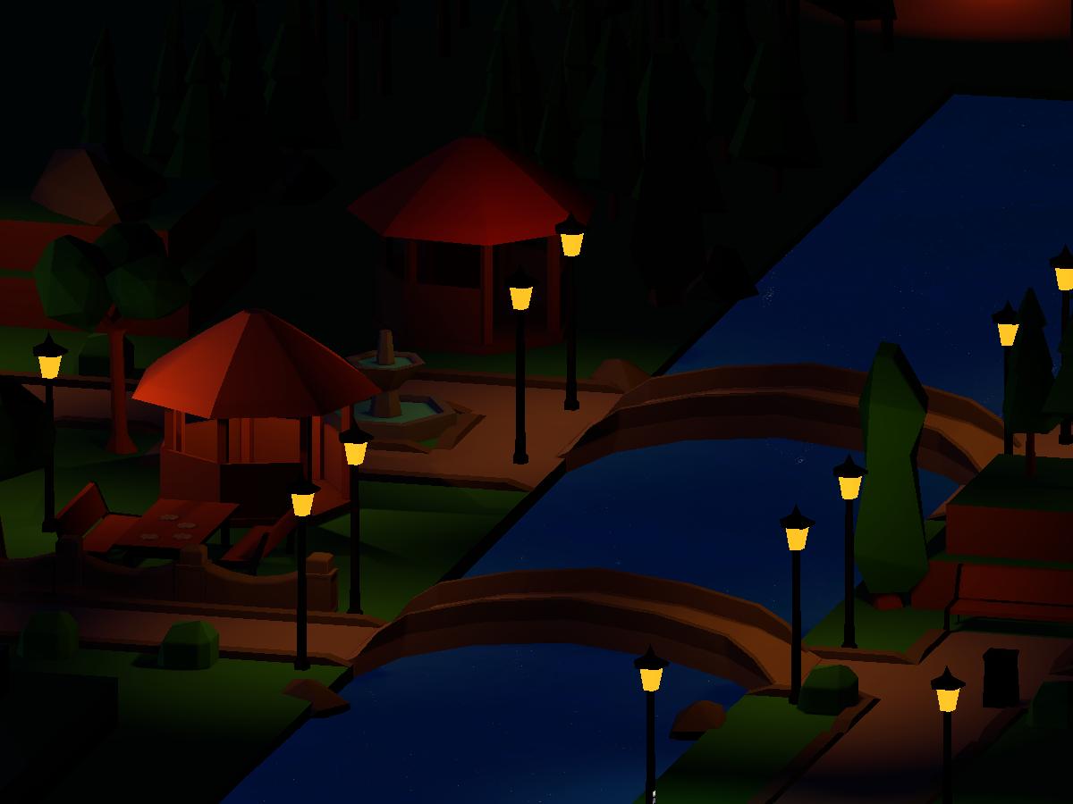 Nighttime Park 2017
