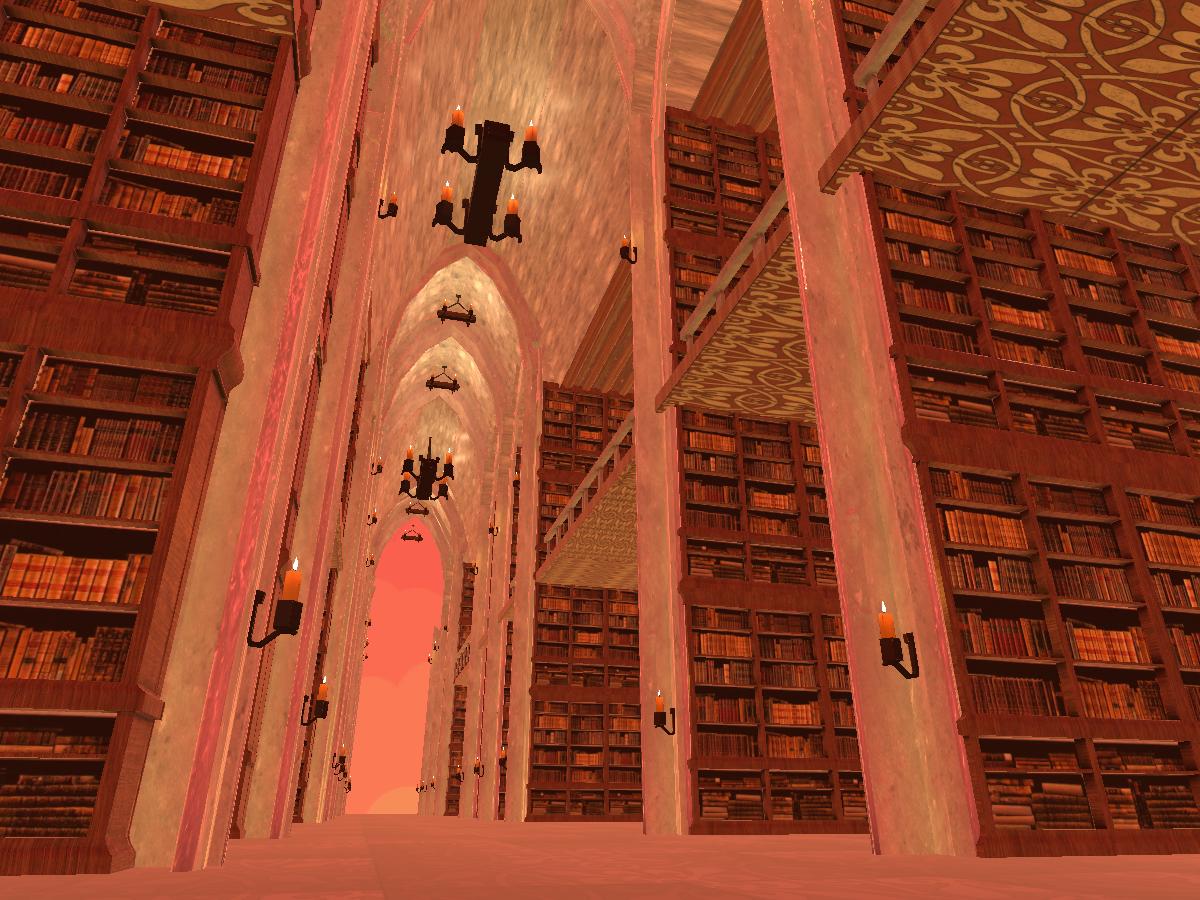 오래된 도서관