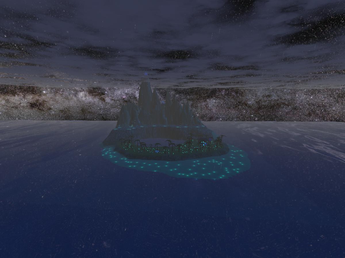 The Blue Isle