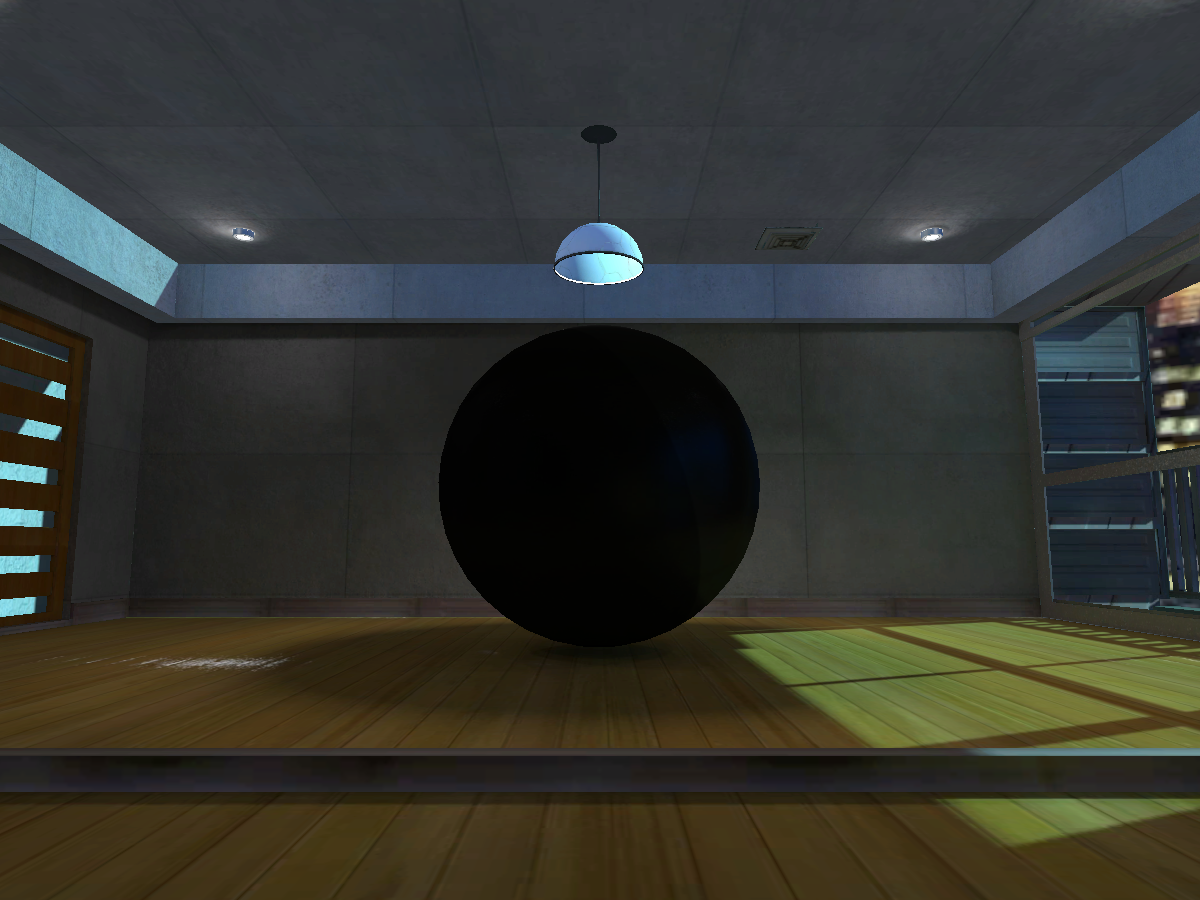 The Room With The Black Sphere
