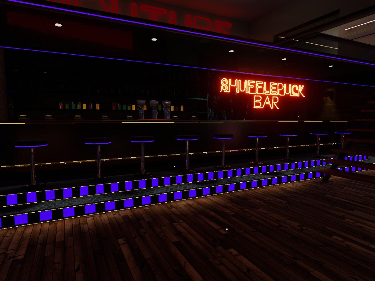 The Shufflepuck Bar