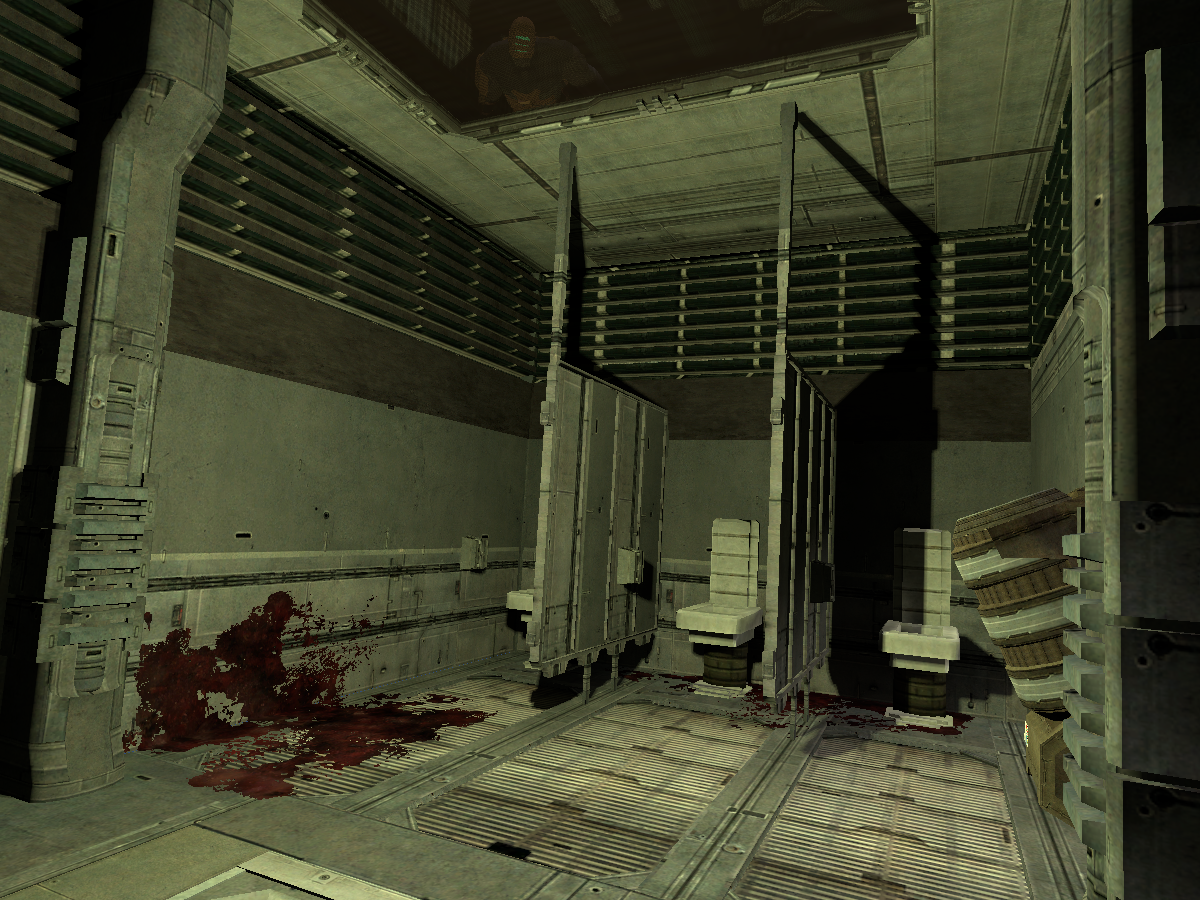 That One Bathroom From Dead Space