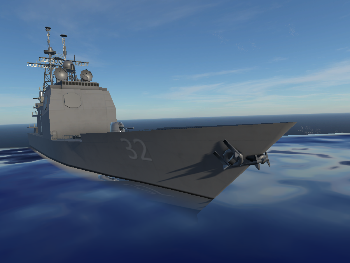 USS Cruiser VR