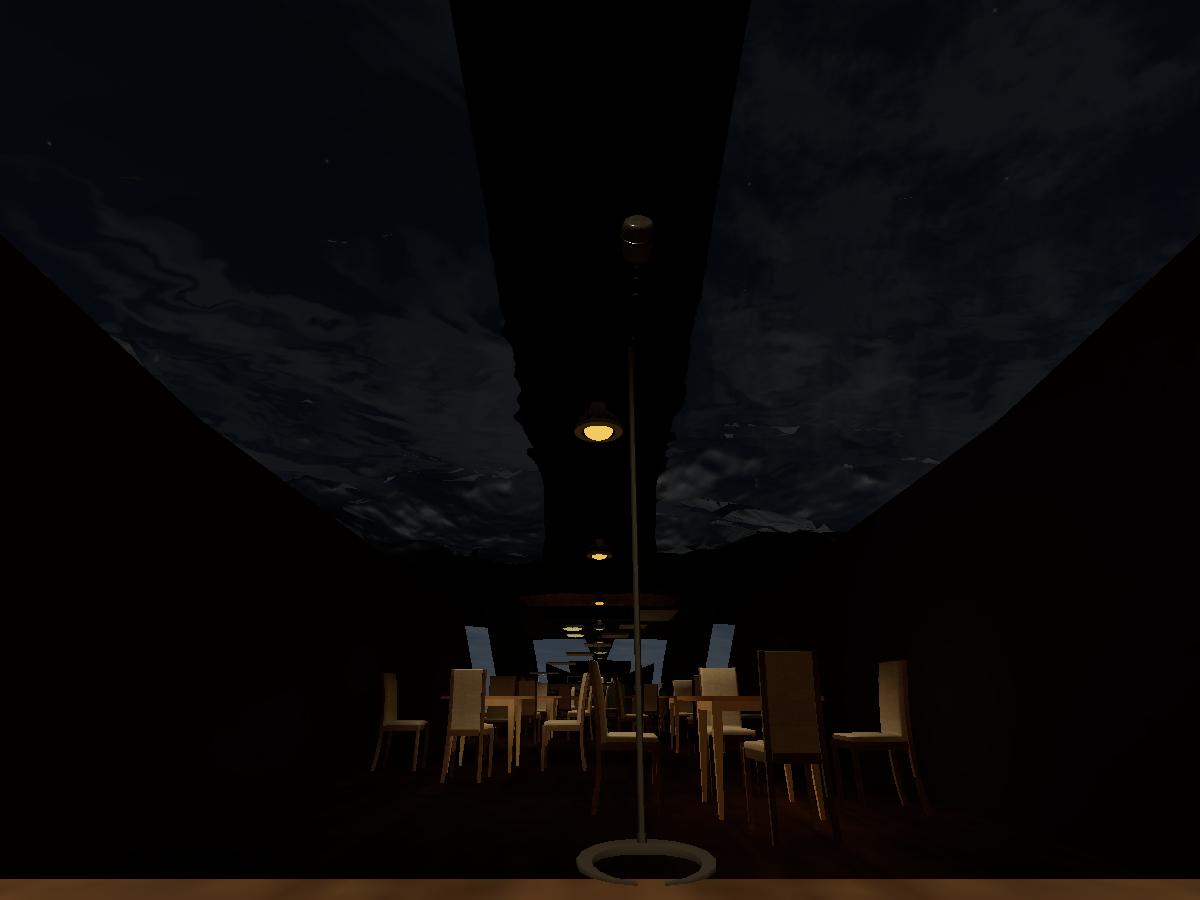 Submarine dining