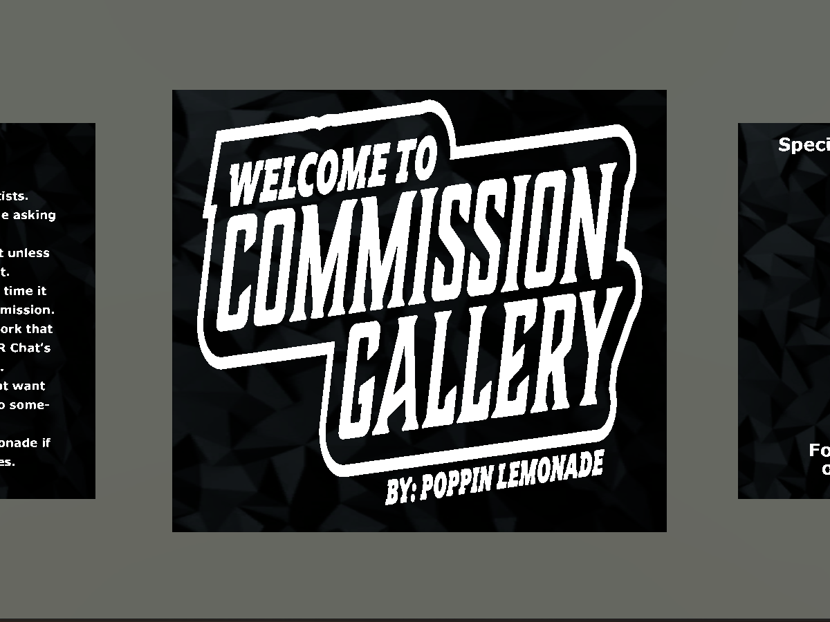 Commission Gallery