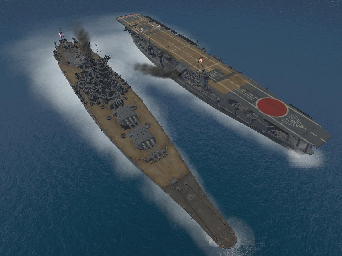 Yamato & Kaga