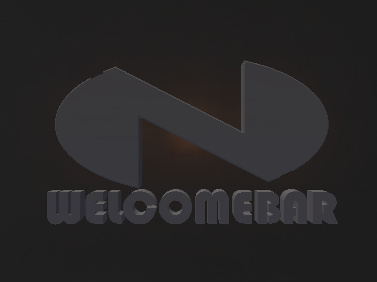 WelcomeVRChat -Bar-