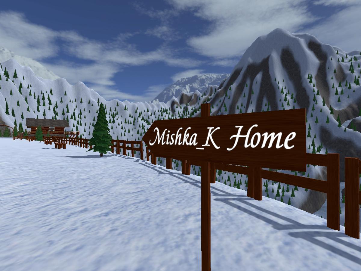 Winter Home of Mishka_K