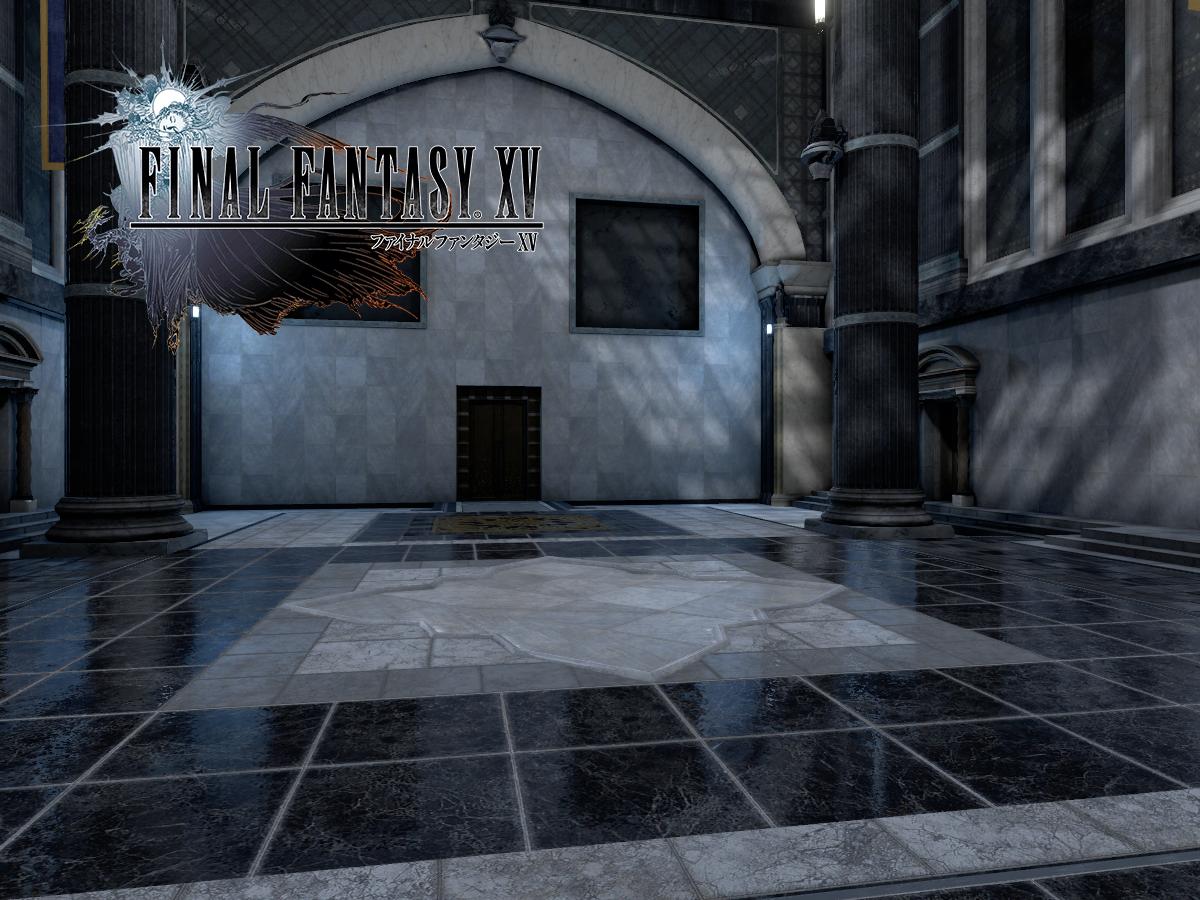 Training Room - Final Fantasy XV
