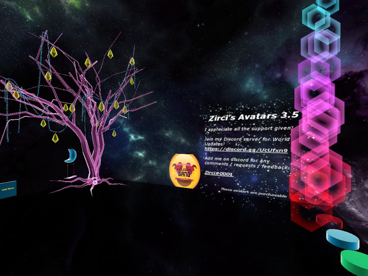 Zirci's Avatars 4 0 | Worlds on VRChat(Beta)