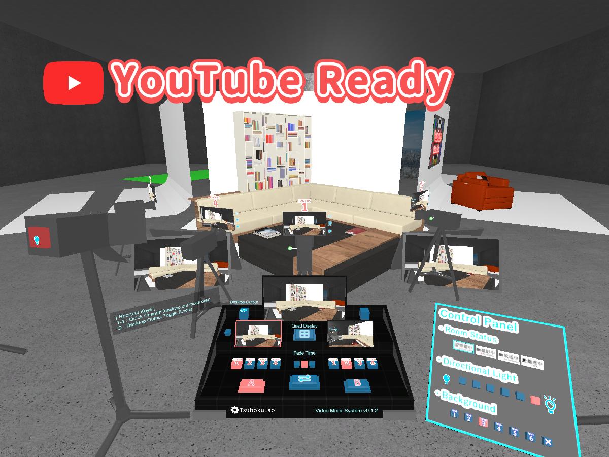 Virtual TV Studio 1080p