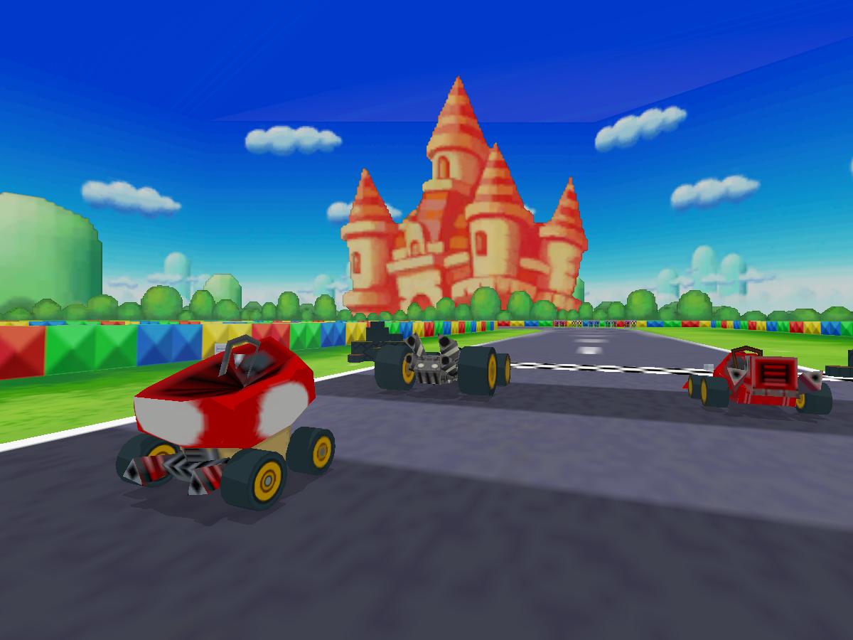 Peach Circuit - Mario Kart DS   Worlds on VRChat(Beta)