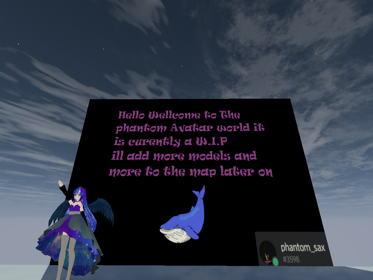 Phantoms avatar world