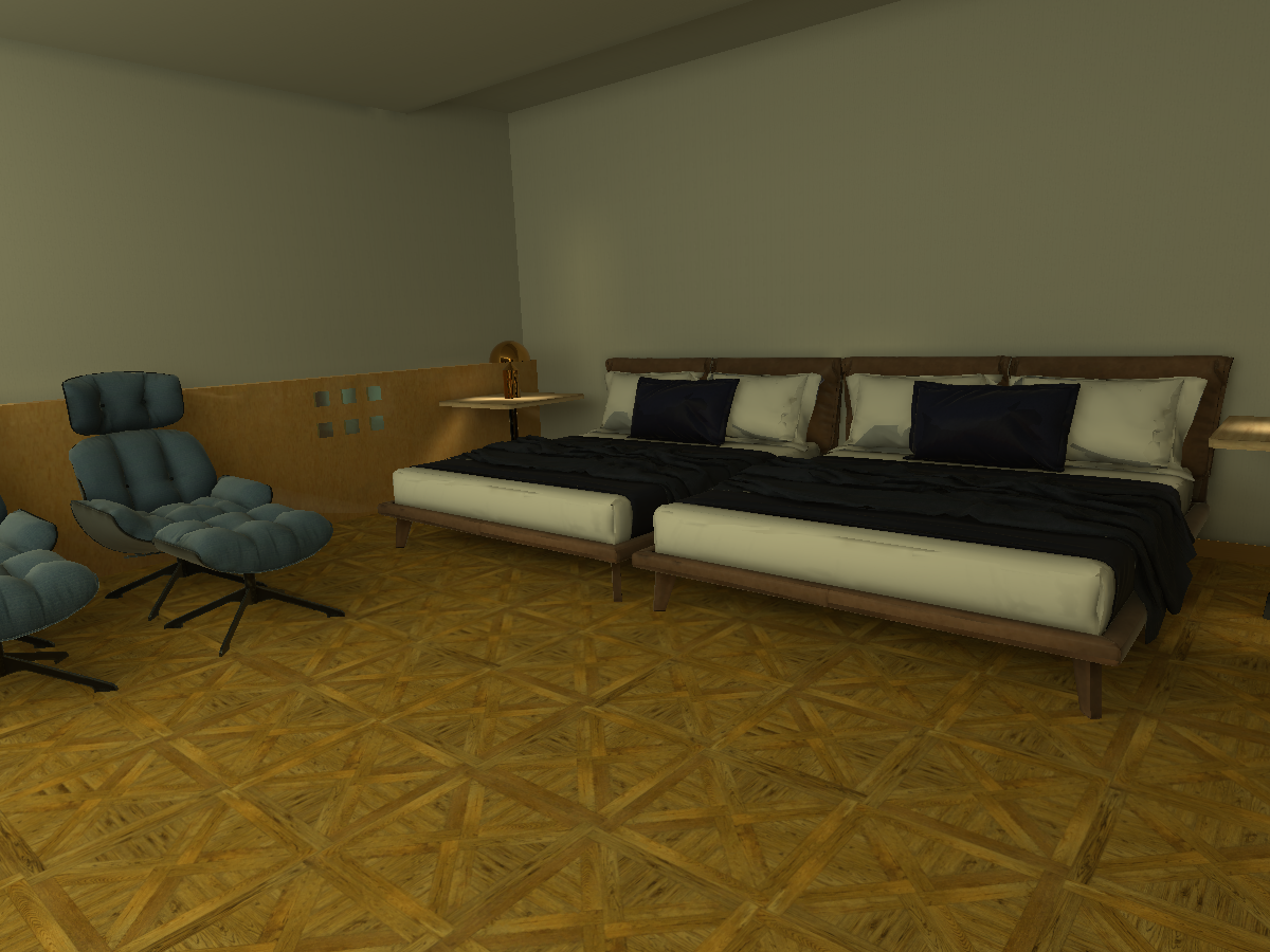 wakamaru bed room α