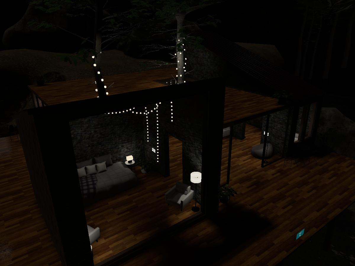 林中树屋 ~ Forest Cabin