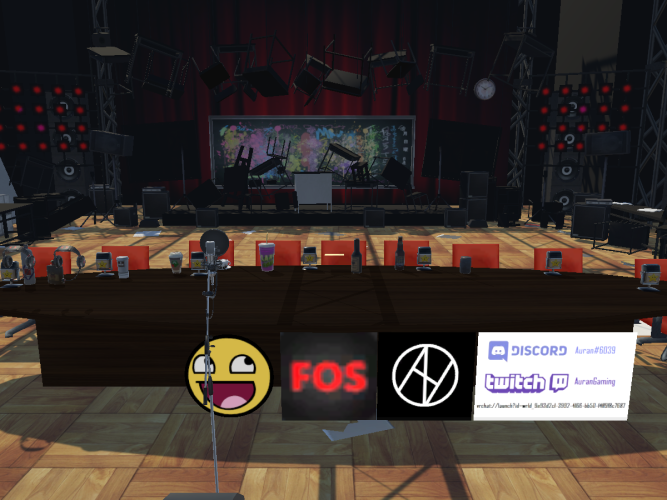 Auran's Podcast Stage