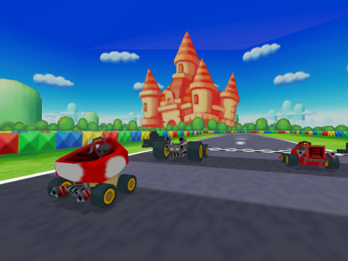 Peach Circuit - Mario Kart DS