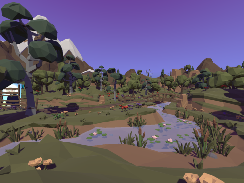 [LOWPOLY]Adventure_World