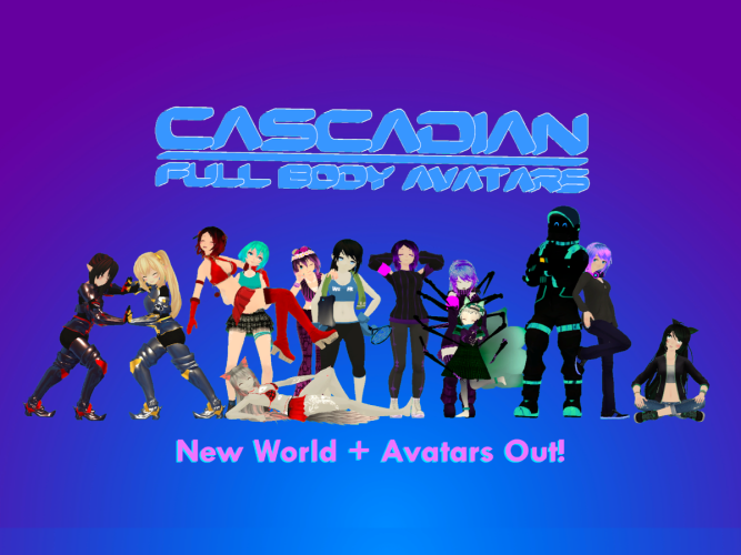 Cascadian Full Body Avatars